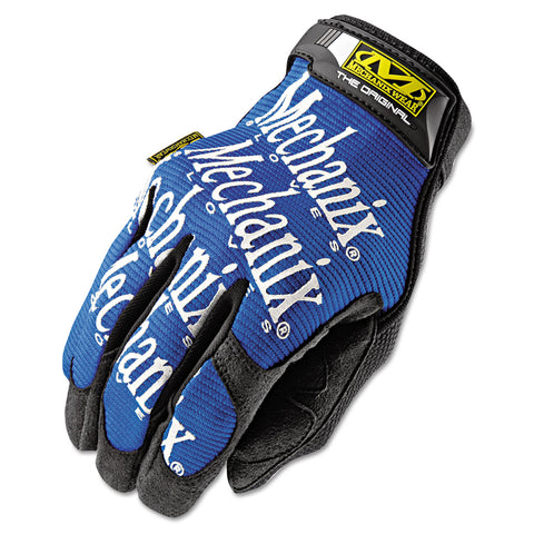 Mechanix Wear The Original Work Gloves, Blue/Black, Large - Blue/Black / Large