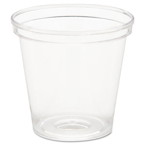 WNA Comet Plastic Portion/Shot Glass, 1 oz, Clear