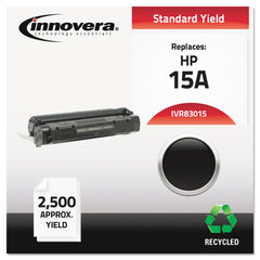 Innovera Remanufactured Black Toner, Replacement for HP 15A (C7115A), 2,500 Page-Yield