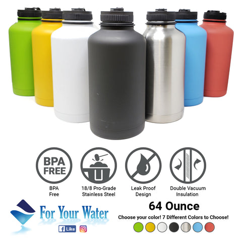 Great For Alkaline Water Storage - Red