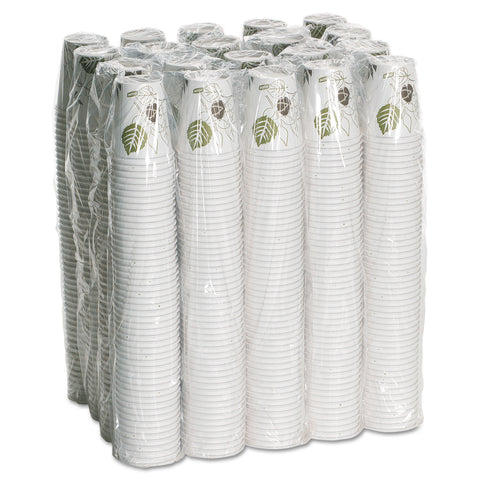 Dixie Pathways Paper Hot Cups, 10 oz, 1000/Carton