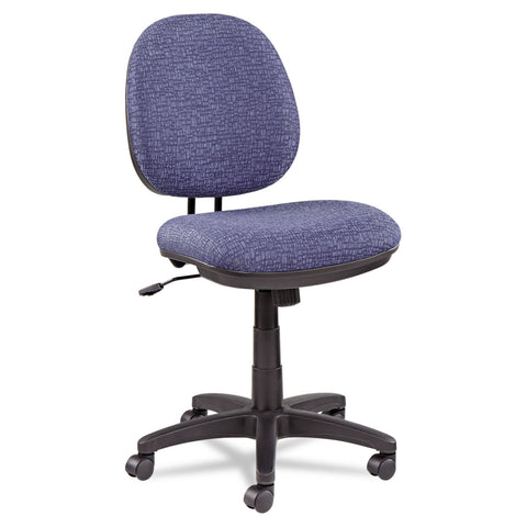 Alera Alera Interval Series Swivel/Tilt Task Chair, Supports up to 275 lbs, Marine Blue Seat/Marine Blue Back, Black Base