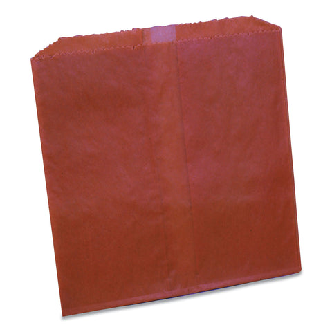 Impact Waxed Sanitary Napkin Disposal Liners, 8.1 x 06. x 9.05, Brown, 500/Carton
