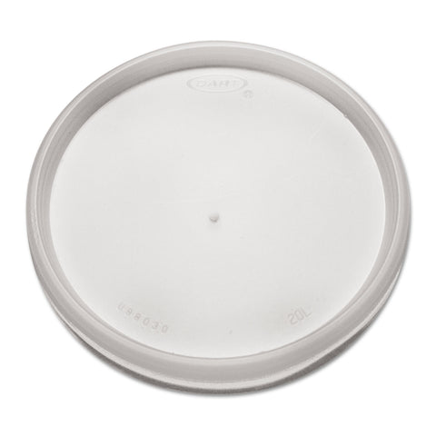 Dart Plastic Lids, for 8, 12, 16oz Hot/Cold Foam Cups, Vented, 1000/Carton