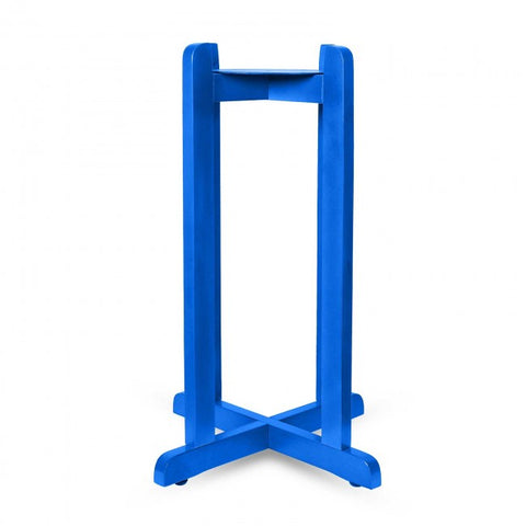 Wood Painted Stand - Blue