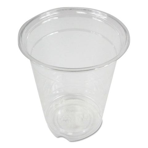 Boardwalk Clear Plastic Cold Cups, 12 oz, PET, 20 Cups/Sleeve, 50 Sleeves/Carton