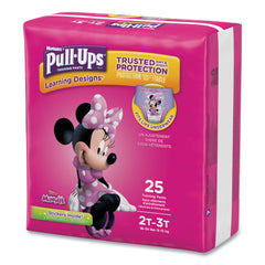 Huggies Pull-Ups Learning Designs Potty Training Pants for Girls, Size 2T-3T, 25/Pack - Doc McStuffins; Minnie Mouse / 2T-3T