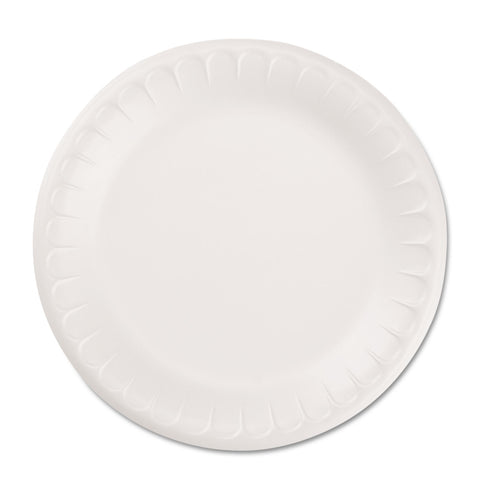 "Hefty Soak Proof Tableware, Foam Plates, 8 7/8"" dia, 100/Pack"
