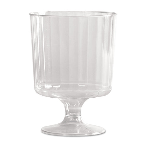 Classic Crystal Stemware, 8 oz, Cold, Clear, Pedestal Wine Glass, 240/Carton