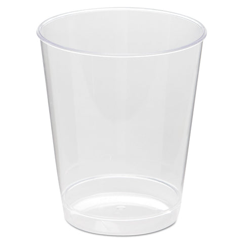 Comet Plastic Tumbler, 8 oz., Clear, Tall, 25/Pack