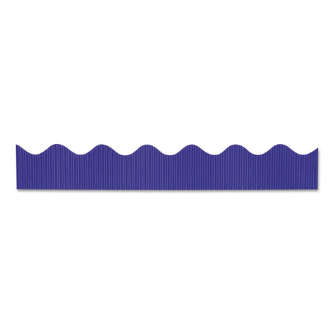 "Pacon Bordette Decorative Border, 2 1/4"" x 50 ft, Royal Blue, 1 roll"