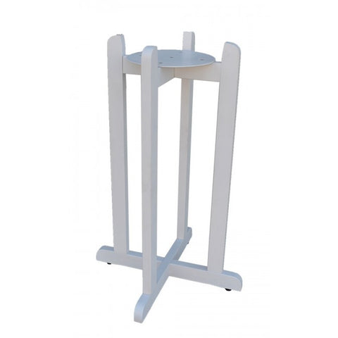 "30"" Wood Painted Stand - White"