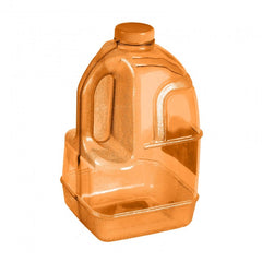Dairy Juice Water Bottle - Orange
