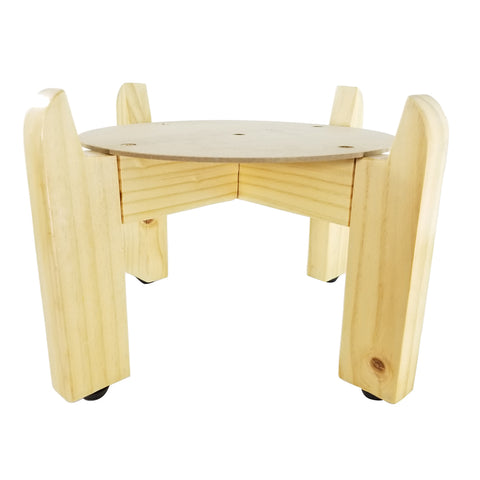 Wood Counter Stand Set