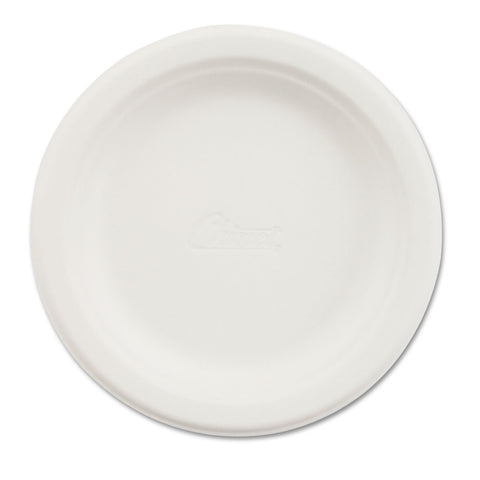 "Chinet Paper Dinnerware, Plate, 6"" dia, White, 1000/Carton - White"