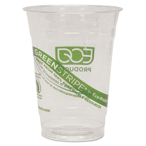 GreenStripe Renewable & Compostable Cold Cups - 16oz., 50/PK, 20 PK/CT
