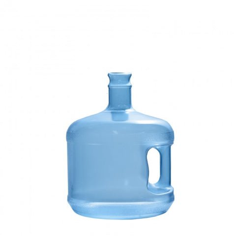 3 Gallon BPA Free Water Jug Botte - 55MM Snap On Crown Top - Blue / 3 Gallon / BPA Free Plastic