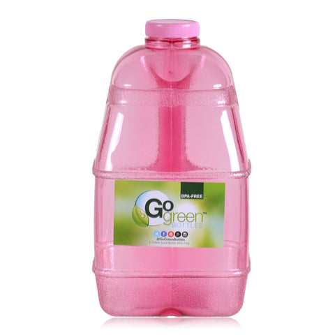 Dairy Juice Water Bottle - Pink