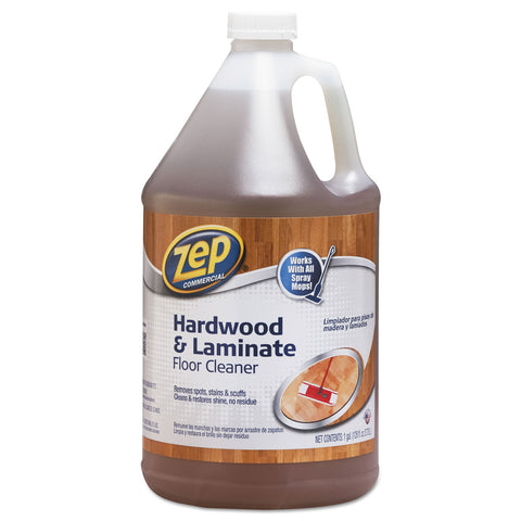 Zep Commercial Hardwood and Laminate Cleaner, 1 gal Bottle