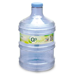1 Gallon BPA Free Round Drinking Water Bottle - Natural Blue
