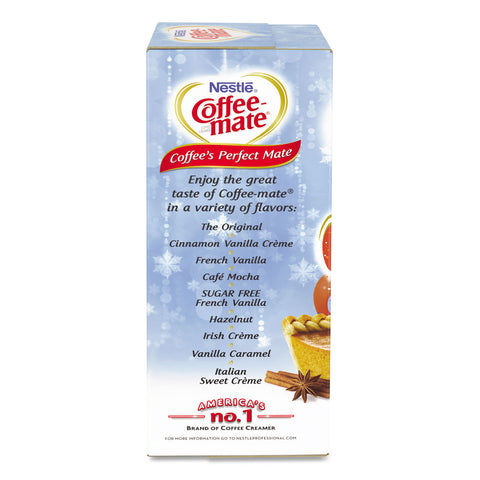 Coffee-mate Liquid Coffee Creamer, Pumpkin Spice, 0.38 oz Mini Cups, 50/Box