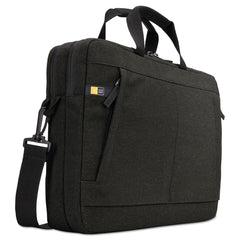 "Case Logic Huxton 15.6"" Laptop Bag, 2 7/8 x 16 x 11 7/8, Black - Black / 15.6"""