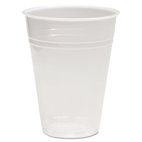 Boardwalk Translucent Plastic Cold Cups, 10oz, Polypropylene, 100/Pack