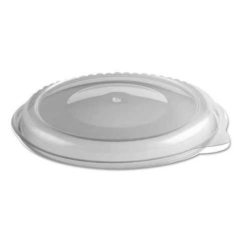 "Anchor Packaging MicroRaves Incredi-Bowl Lid, For 24 oz Bowl, 5.5"" Diameter x 0.7""h, Clear, 250/Carton"