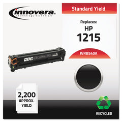 Innovera Remanufactured Black Toner, Replacement for HP 125A (CB540A), 2,200 Page-Yield