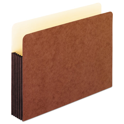 "Pendaflex Redrope WaterShed Expanding File Pockets, 5.25"" Expansion, Letter Size, Redrope"