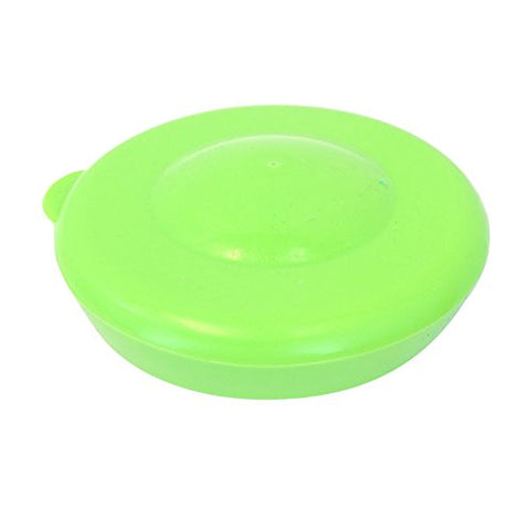 Lot of 5 Dew Caps 55mm Snap On Cap Lids Tops For 3 & 5 Gallon Water Bottles - Lime Green - 55MM / Light Green / 5