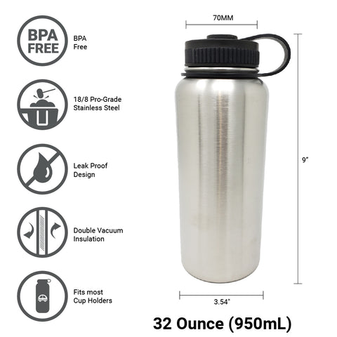 Great For Alkaline Water Storage - Stainless Steel