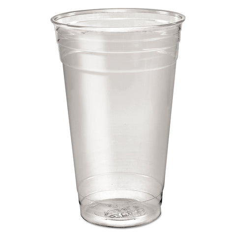 Dart Ultra Clear PETE Cold Cups, 24 oz, Clear, 50/Sleeve, 12 Sleeves/Carton - Clear