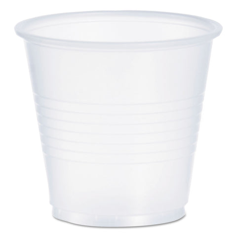 Dart Conex Galaxy Polystyrene Plastic Cold Cups, 3 1/2 oz, 100/Pack