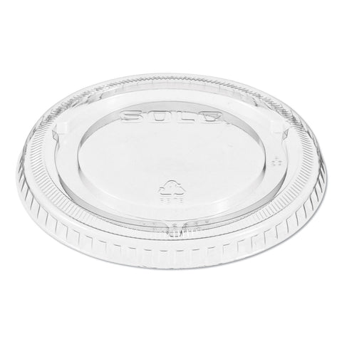 Dart Non-Vented Cup Lids, Fits 9-22 oz. Cups, Clear, 1000/Carton - Clear