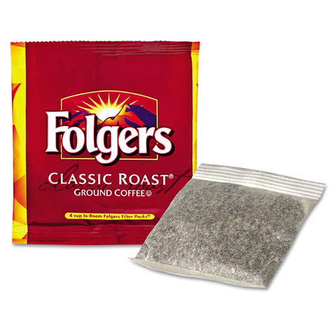 Folgers Coffee Filter Packs, Regular, In-Room Lodging, .6oz, 200/Carton