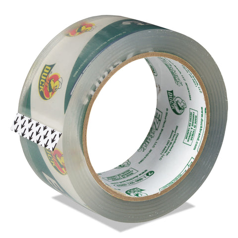 "Duck EZ Start Premium Packaging Tape, 3"" Core, 1.88"" x 60 yds, Clear"