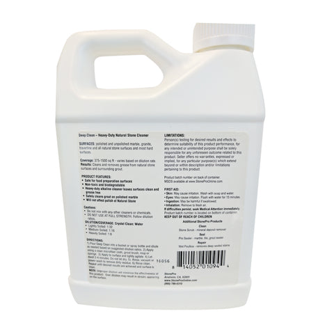 Alkaline Heavy Duty Stone Cleaner Concentrate