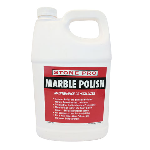 Stone Pro Marble Polish - Maintenance Crystallizer - 1 Gallon