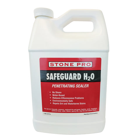 Stone Pro Safegaurd H20 General Purpose Impregnating, Penetrating Sealer- 1 Quart - 1 Quart