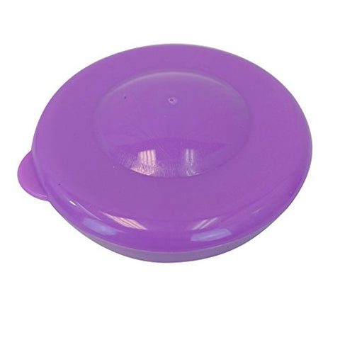Lot of 5 Dew Caps 55mm Snap On Cap Lids Tops For 3 & 5 Gallon Water Bottles - Purple