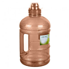 Water Bottle with Sports Top - Brown