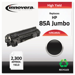 Innovera Remanufactured Black Extended-Yield Toner, Replacement for HP 85A (CE285AJ), 2,300 Page-Yield
