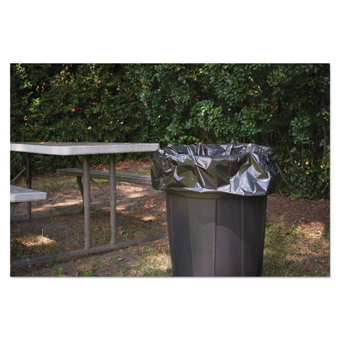 "Stout by Envision Insect-Repellent Trash Bags, 45 gal, 2 mil, 40"" x 45"", Black, 65/Box - Black"