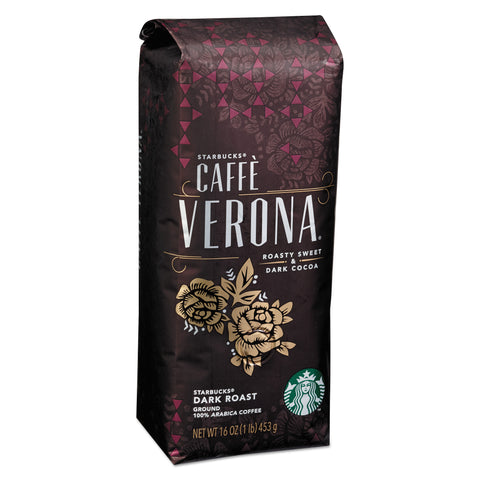 Starbucks Coffee, Caffe Verona, Ground, 1lb Bag