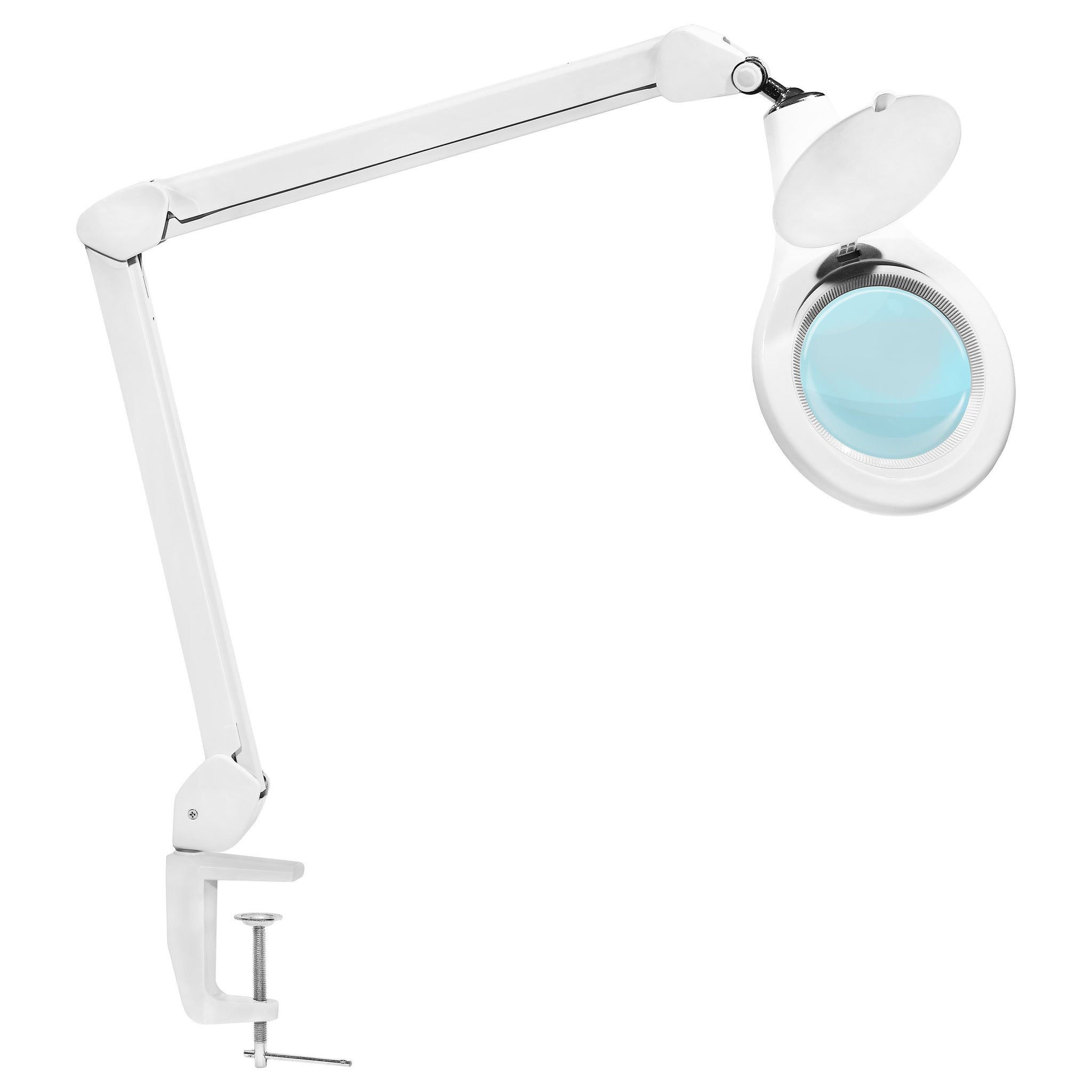 lighting lens newhouse product lamp magnifier adapter ul top table diopter by led magnifying