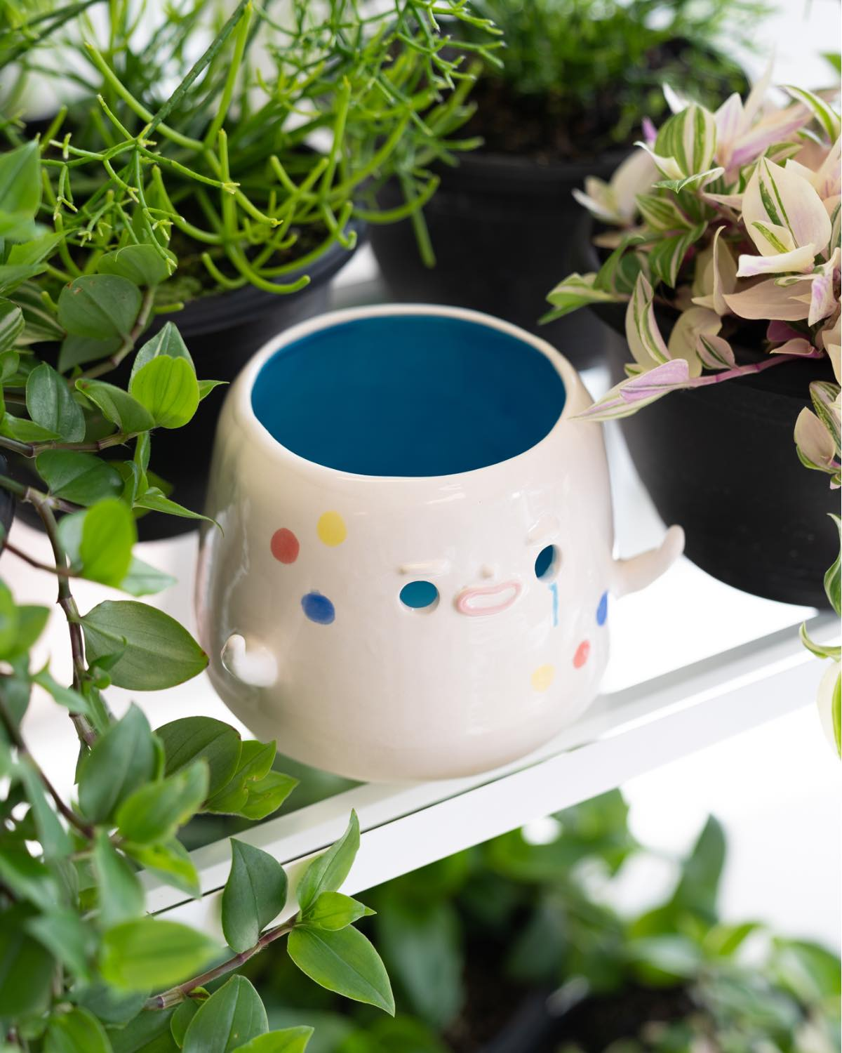 Hoyo Ceramic Pot by Mai Accents