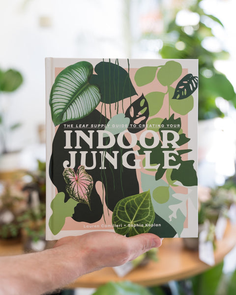 NEW 'Indoor Jungle' book by Leaf Supply $50.00