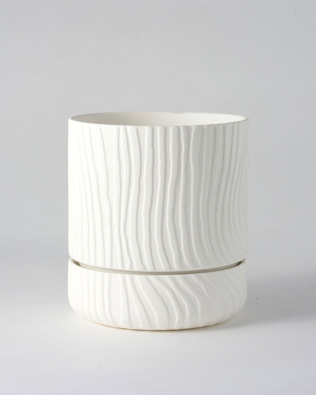 Abstract Relief Plant Pot