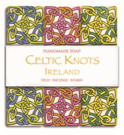 Celtic Knot Handmade Soap - 3 Pack